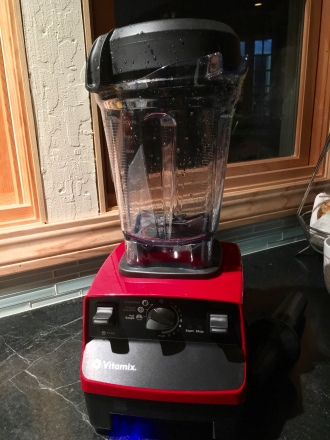 vitamix the latest new kitchen addition